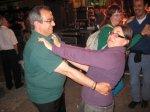 """Paco """"taxi"""" i Eva ballant un pasdoble"""